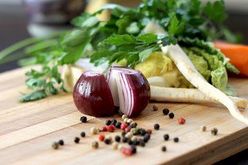 onion & herbs